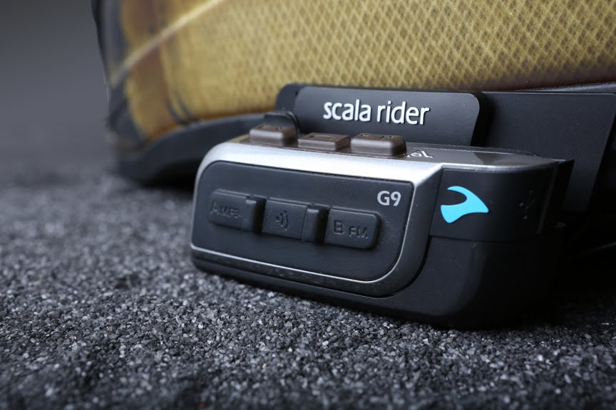 Il Premiato Scala Rider G9, Social Bluetooth